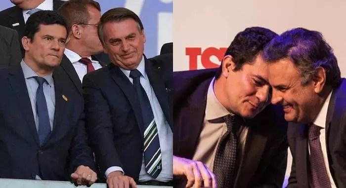 Bolsonaro tem autoridade para falar de fraude, ele e Moro fraudaram a eleição de 2018