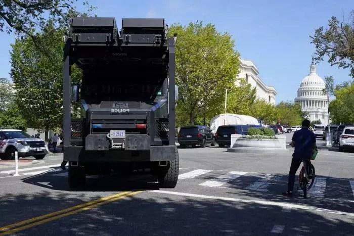 URGENTE: Ameaça de bomba no Capitólio, em Washington.