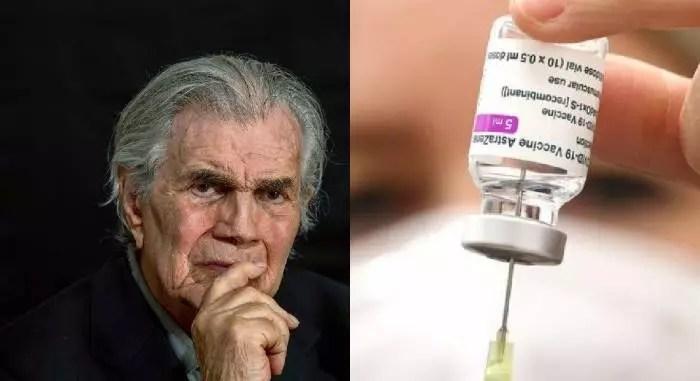 Morte de Tarcísio Meira reacende discussões sobre 3ª dose para vacinados com Coronavac, com outra vacina.