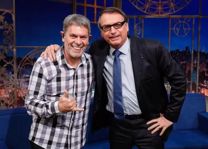 "Roger é espinafrado nas redes por ""trair"" Bolsonaro e defender a vacina."