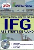 Concurso IFG 2017-ASSISTENTE DE ALUNO