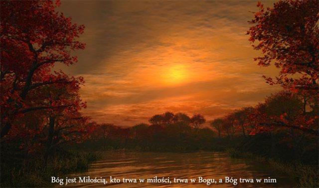 Znalezione obrazy dla zapytania bog jest miloscia zdjecia