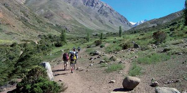 Por las montañas de Santiago