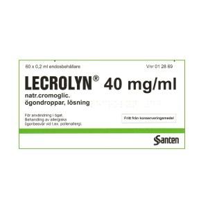 LECROLYN 40 mg/ml, 60 x 0,2 ml