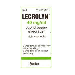 LECROLYN 40 mg/ml 5 ml