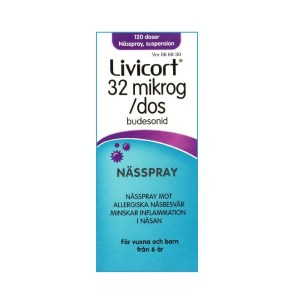 Livicort 32µg/dos Nässpray, suspension 120 doser