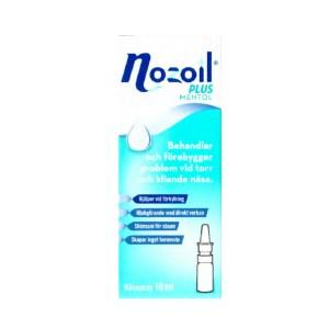 Nozoil Plus Mentol, Nässpray 10 ml