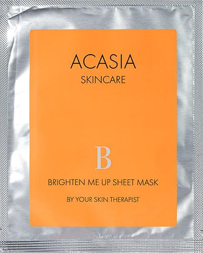 Acasia Brighten Me Up Sheet Mask