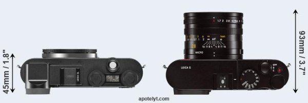 Leica CL vs Leica Q Typ 116 Comparison Review