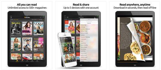 Mit einem Nutzeraccount kannst Du auf bis zu 5 Geräten die Zeitschriften runterladen und lesen.  Gut: Die Zeitschriften werden auf Dein Gerät geladen und Du kannst sie auch offline lesen.
