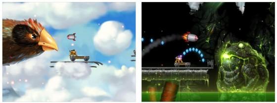 Gute Grafik, leichte Bedienung und viele gute Ideen für das Leveldesign zeichnen Wondercat Adventure aus.