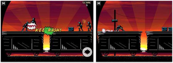 Screenshot iPhone App Action Hero von Donut Games