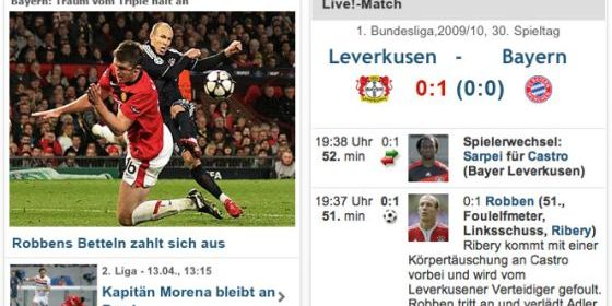 Screenshot kicker App für das iPhone