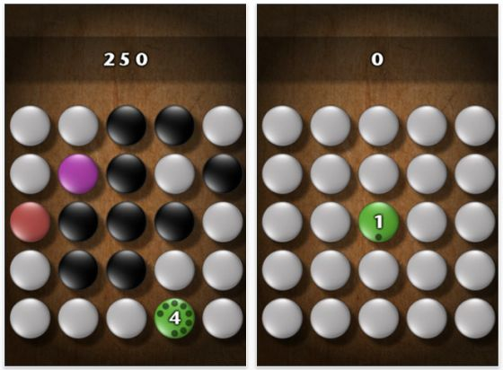 Screenshot iPhone App Strategiespiel Koan