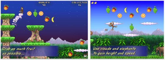iPhone App Monkey Flight
