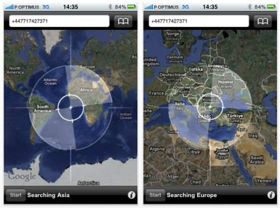 Screenshots Spy Phone Locator
