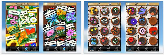 Screenshots Flower garden iPhone App