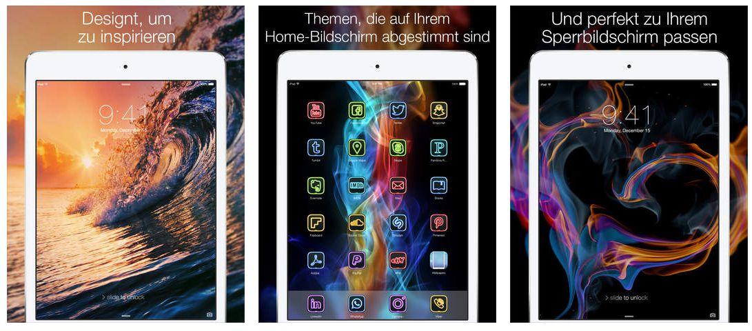 die besten kostenlosen wallpaper apps f r iphone und ipod touch app. Black Bedroom Furniture Sets. Home Design Ideas