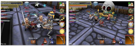 Screenshot POcket Legends
