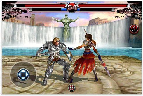 Screenshot Blades of Fury für das iPhone