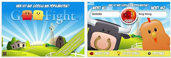 Screenshot Goofight App