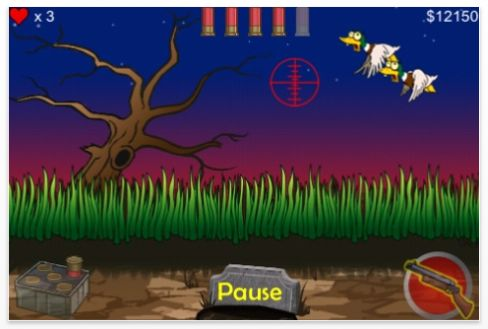 Screenshot Zombie Duck Hunt für iPhone und iPod Touch