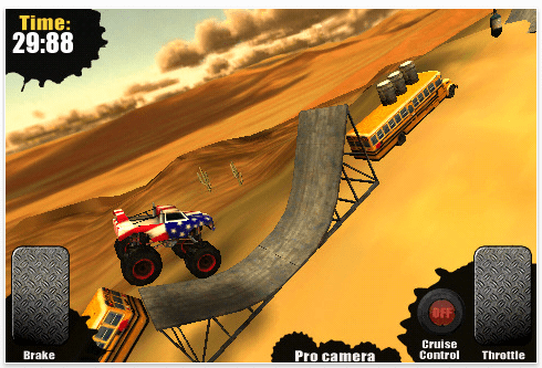 Screenshot Monster Trucks Nitro für iPhone und iPod Touch