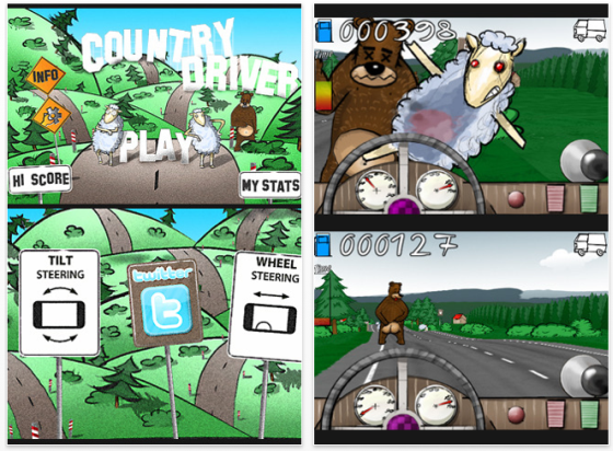 Screenshot Country Driver