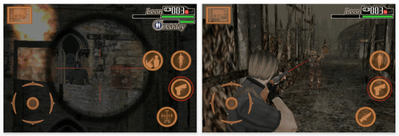 Screenshot Resident Evil für iPhone und iPod Touch