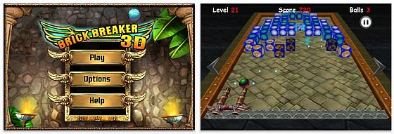 Brick Breaker 3D Screenhot