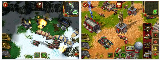 Command & Conquer für das iPad Screenshot