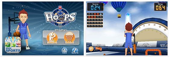 Yoo Hoops für das iPhone Screenshot