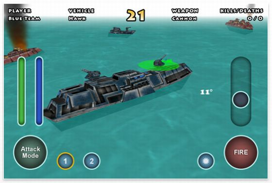 Minute Commander Universal-App Screenshot