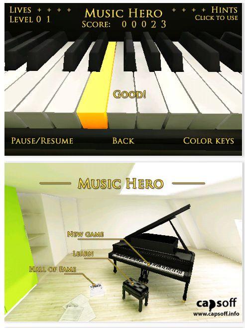 Screenshots Music Hero für iPhone und iPod Touch