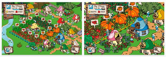 Smurfs Village Screenshot