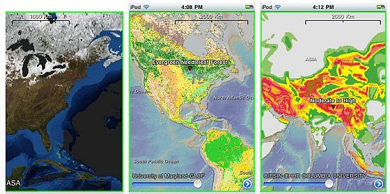 Screenshot EarthObserver