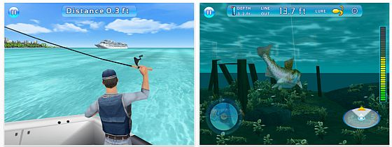 Fishing Kings iPhone iPod Touch und iPad App von Gameloft