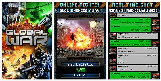 App Global war Screenshots