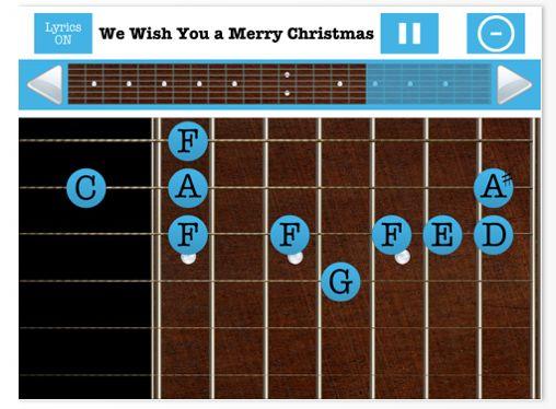 Guitar Free Screen