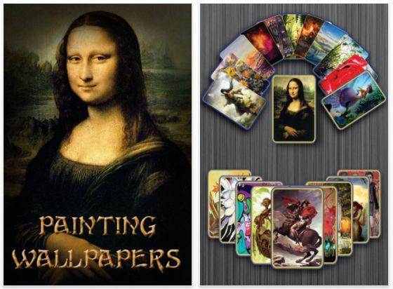 Painting Wallpapers App Screenshot