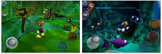 Screenshot Rayman 2 für iPhone und iPod Touch