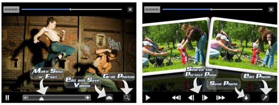 """VideoPix liegt inzwischen in der dritten Generation vor. Mit der App kann man Bilder aus Videos """"ausschneiden"""" und Videos editieren."""
