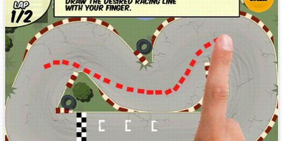 Draw Race Screen