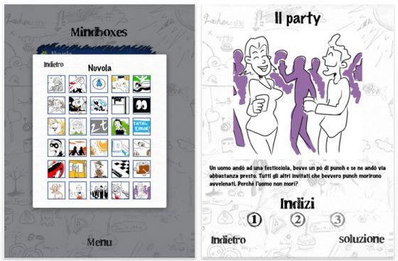 Lateral Minds Universal-App für iPhone, iPod Touch und iPad