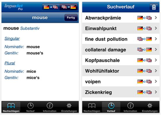 Linguadict Pro Screenshot
