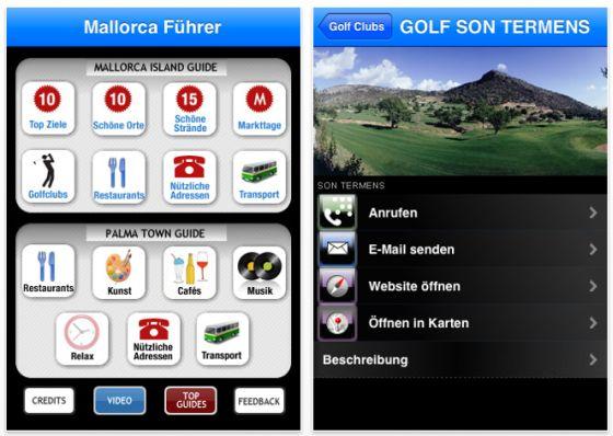 Mallorca Reiseführer Mallorca Essentials für iPhone und iPod Touch Screenshot