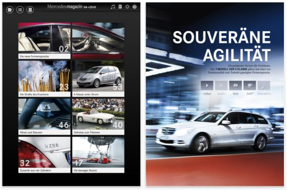 MercedesMagazin iPad App