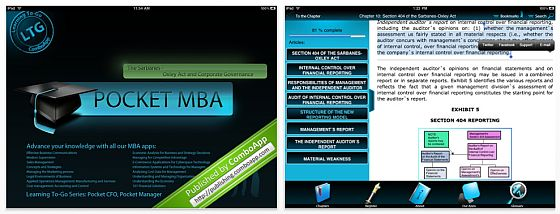 Pocket MBA Screenshot