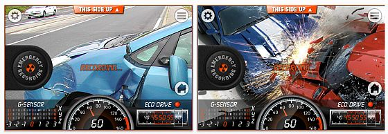 iCarBlackBox Screenshots iPhone App Blackbox Auto