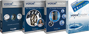 Voice Reader Familie von Linguatec Packshot